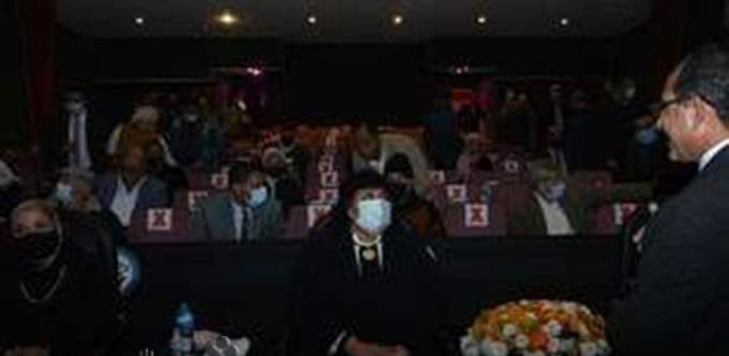 وزيرة الثقافة تشهد مراحل تطوير فيلما يحمل اسم بورسعيد