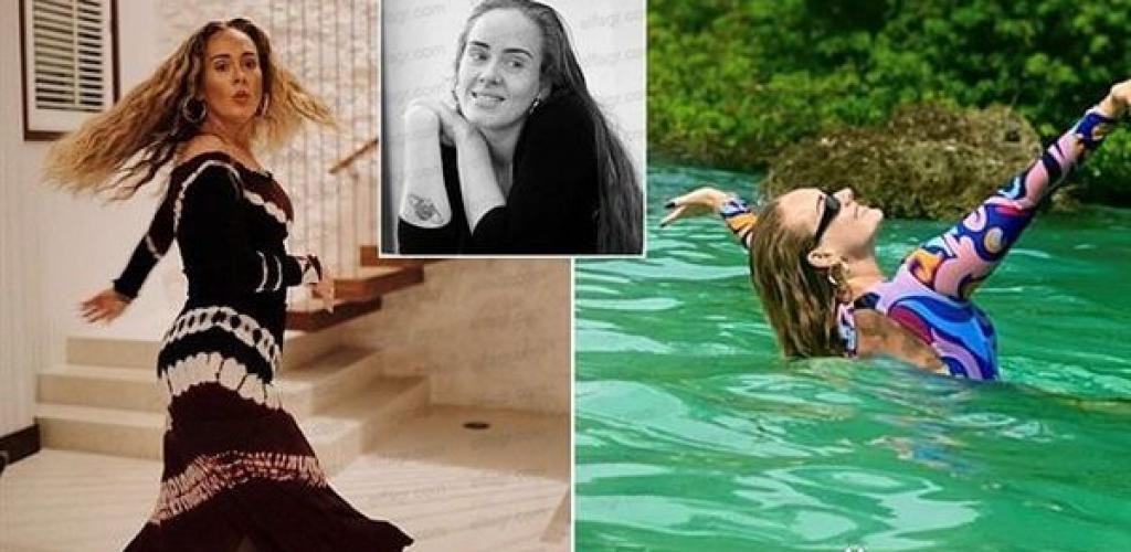 أديل تشارك متابعيها احتفالها بعيد ميلادها الـ 33
