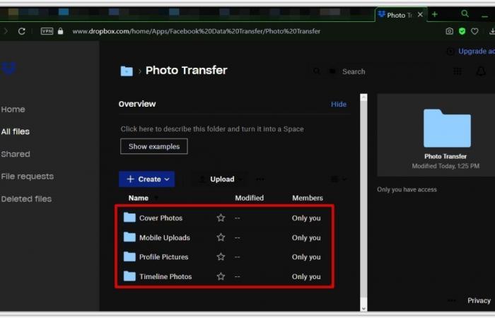 كيفية نقل الصور ومقاطع الفيديو من فيسبوك قبل حذف حسابك