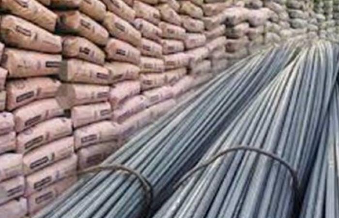 أسعار مواد البناء في مصر اليوم الاثنين 1-2-2021
