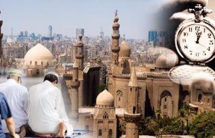 مواقيت الصلاة اليوم الإثنين 1/2/2021 بمحافظات مصر والعواصم العربية