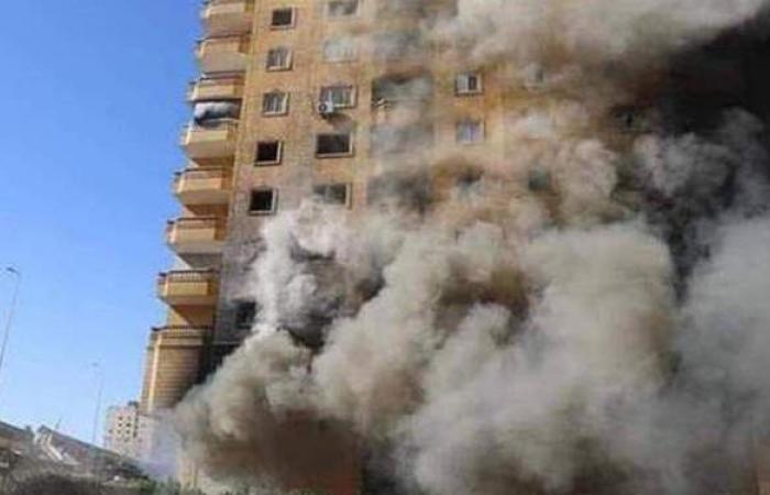 النيابة الإدارية تبدأ غدا التحقيق في حريق عقار فيصل | فيديو