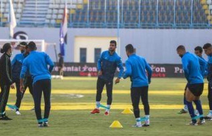 أسوان يختتم استعداداته لمواجهة سيراميكا فى الدوري
