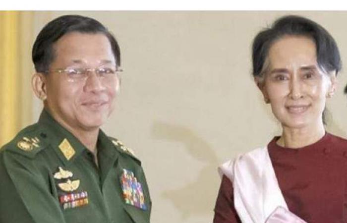 إغلاق كافة المصارف في بورما.. وزعيمة البلاد تدعو للثورة على الجيش