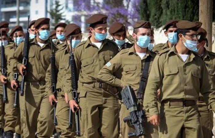 ارتفاع إصابات كورونا في صفوف الجيش الإسرائيلي إلى 2400 حالة