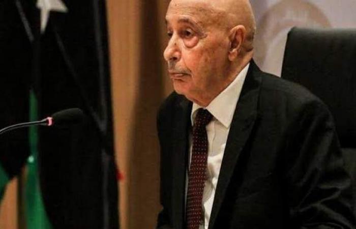 رئيس مجلس النواب الليبي عقيلة صالح ينفي استقالته من منصبه