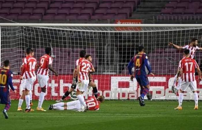 ميسي وجريزمان يقودان برشلونة للفوز على بلباو في الليجا | فيديو