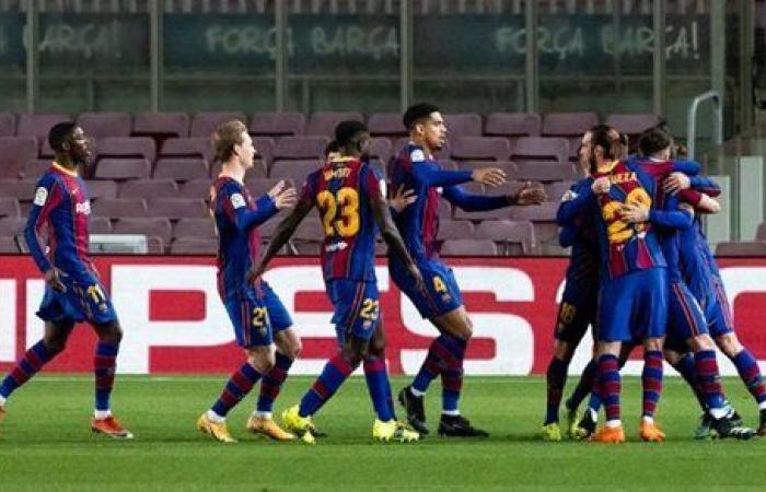 برشلونة يثأر من خسارة السوبر ويتفوق على بلباو بثنائية ويرتقي للوصافة