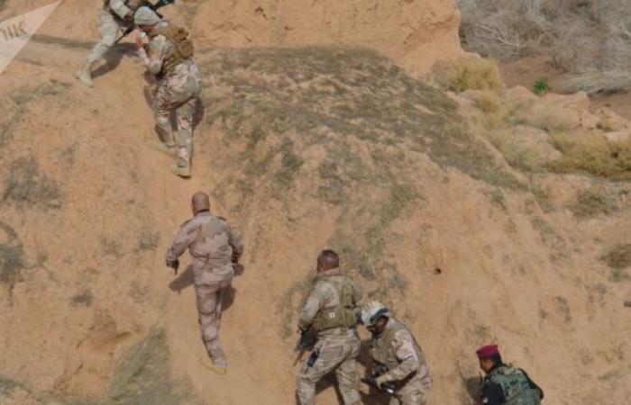 """""""أسود العراق"""" تحقق تقدما مهما ضد الإرهاب في الصحاري"""