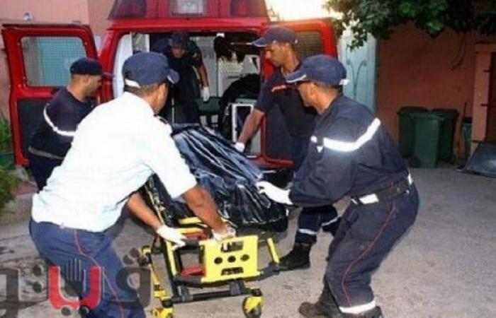 مصرع شخصين في تصادم سيارة نقل محملة رخام بدراجة بخارية في بني سويف
