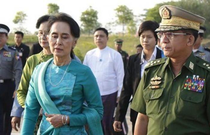 ملامح انقلاب.. قطع بث التليفزيون الرسمي في ميانمار