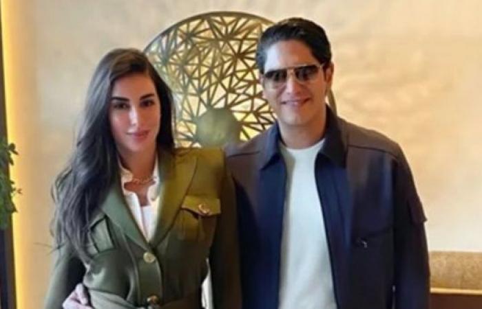 شاهد أحدث ظهور ل ياسمين صبري وزوجها أحمد أبو هشيمة