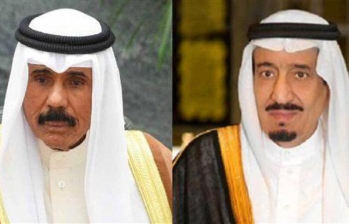 أمير الكويت يبعث برقية عزاء للعاهل السعودي في وفاة الأميرة نورة بنت فهد