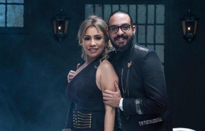 شاهد.. مروان يونس يهنئ زوجته بعيد ميلادها