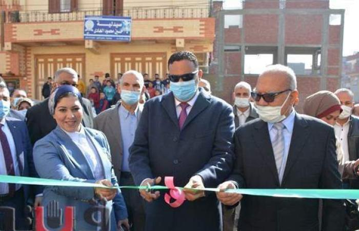 محافظ الدقهلية يفتتح معهدا أزهريا ومستشفى دار الطب بالكردي