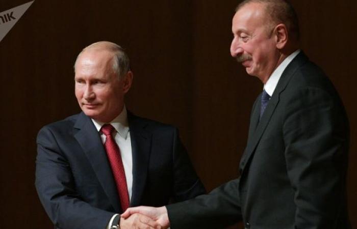 الكرملين: بوتين وعلييف يقيمان إيجابا تنفيذ اتفاقية ناغورني قره باغ