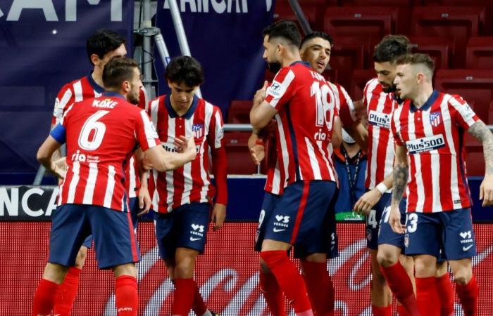 أتلتيكو مدريد في اختبار أندلسي بالدوري الإسباني