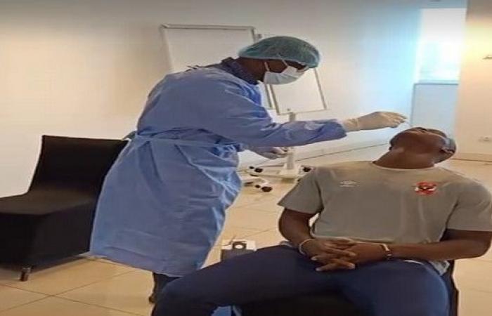 مسحة طبية للأهلي قبل مواجهة المريخ السوداني