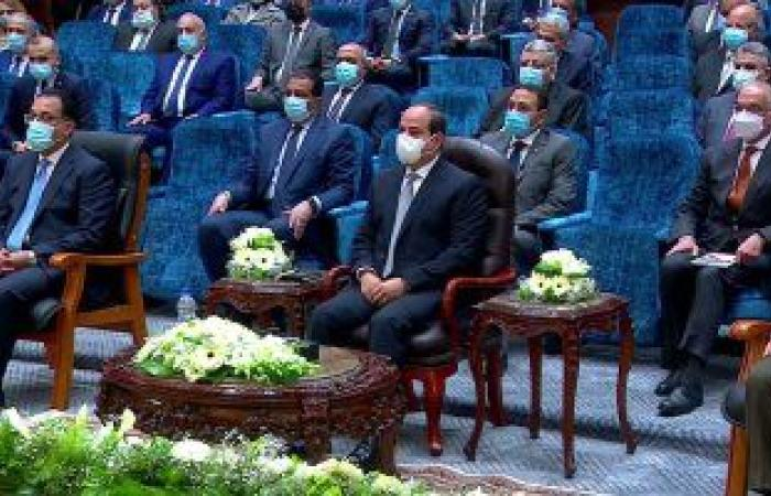 بدء فعاليات افتتاح مدينة الدواء فى الخانكة بحضور الرئيس السيسى