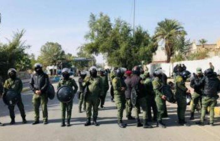 الشرطة العراقية تلقى القبض على مطلوب بقضايا إرهابية فى بغداد
