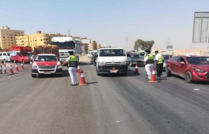 ضبط 12 ألفا و257 مواطنا لعدم الالتزام بارتداء الكمامات