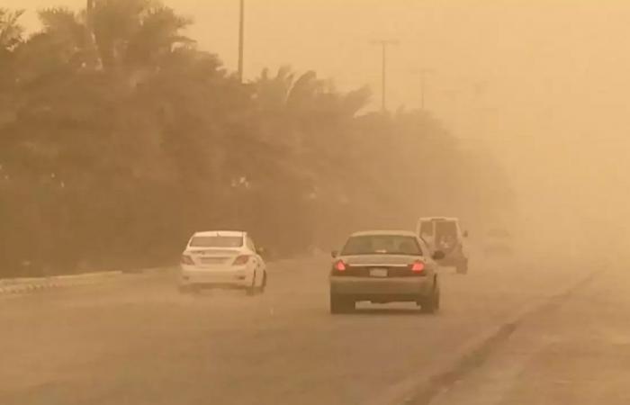 الأرصاد: سحب رعدية ورياح وأتربة نشطة تؤثر على بعض مناطق المملكة.. الخميس