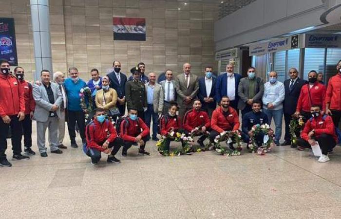 وزير الرياضة يهنئ المنتخب المصري للمصارعة بعد تأهل 8 لاعبين للأولمبياد