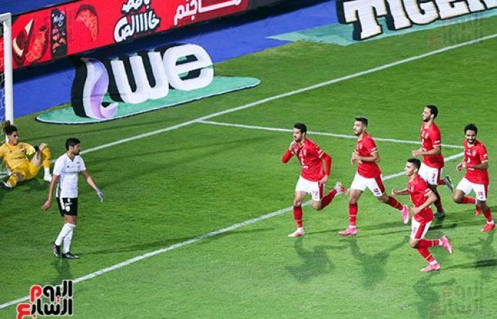 فيديو.. محمد نجيب يحرز هدف التعادل للجونة بمرمى الأهلى