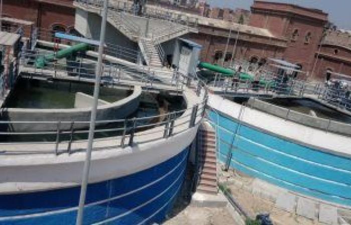 إنهاء 70% من أعمال إنشاء أكبر محطة رفع مياه صرف فى إفريقيا ببورسعيد