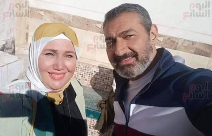 عودة هالة أنور.. ياسر جلال جعل أجمل طفلة بالثمانينات مديرة مدرسة فى ضل راجل