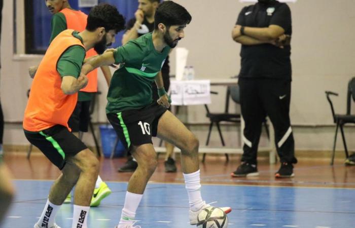مجموعة نارية.. أخضر الصالات يصطدم بأسود الأطلس في كأس العرب