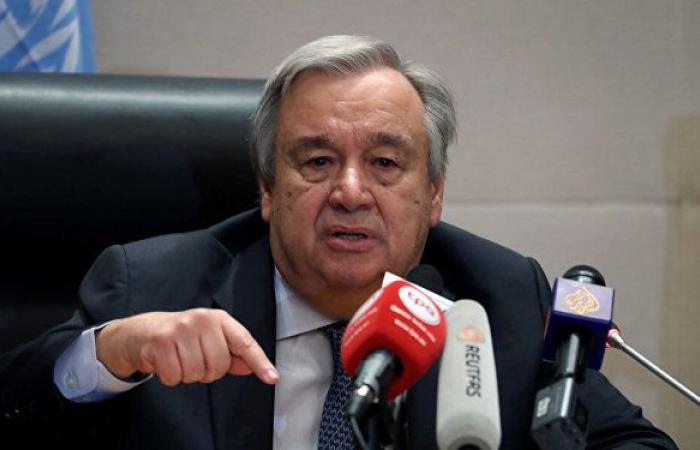 غوتيريش يعرب عن قلقه إزاء زيادة حصيلة القتلى المدنيين في غزة
