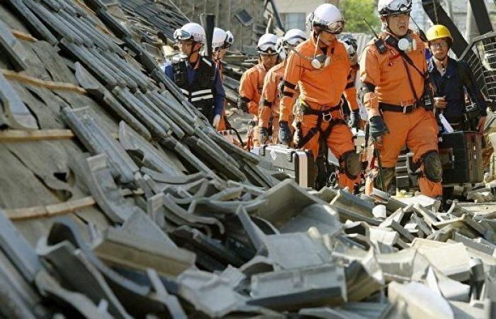 زلزال بقوة 5.7 درجة يقع قبالة الساحل الشرقي لليابان