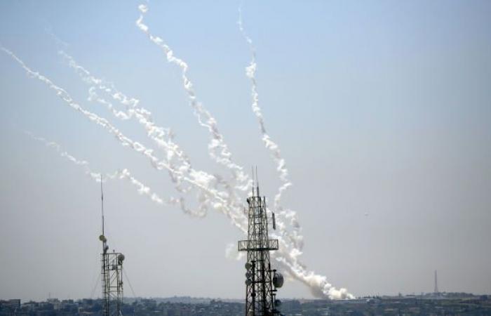 المقاومة الفلسطينية تقصف مستوطنات غلاف غزة برشقات صاروخية.. فيديو