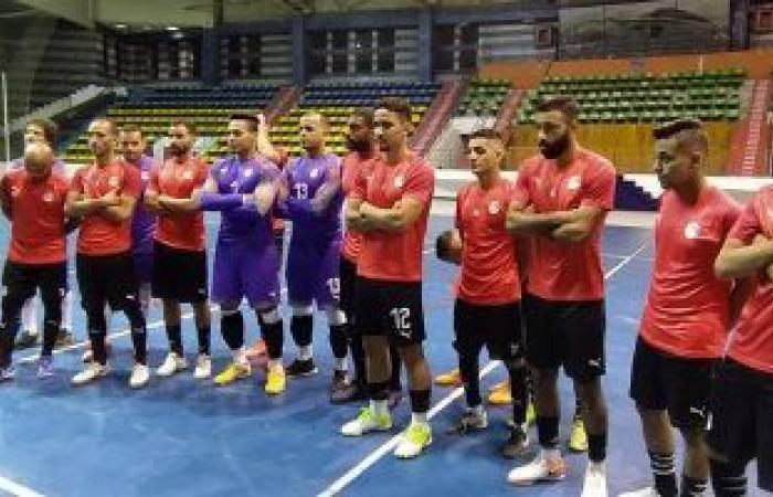 منتخب مصر مع روسيا و أوزبكستان بكأس العالم لكرة الصالات