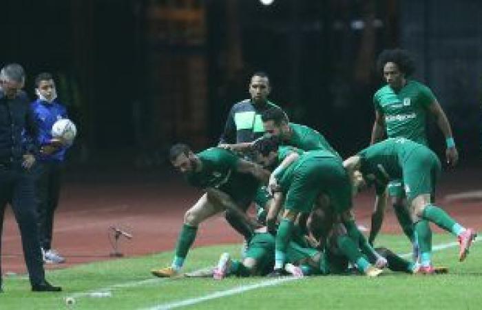 انتهاء مباراة المصرى وأسوان 2/2 بكأس مصر واللجوء للوقت الإضافى