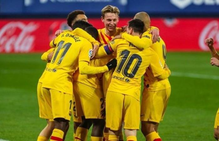 تشكيل برشلونة المتوقع بعد التعاقد مع الصفقات الجديدة