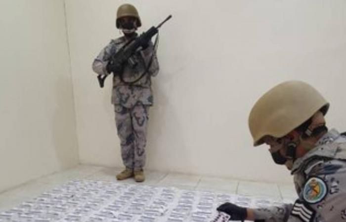 حرس الحدود يحبط محاولة تهريب 308.6 كيلوجرام حشيشا و23.7 طنّ من القات المخدر بالشرقية وجازان