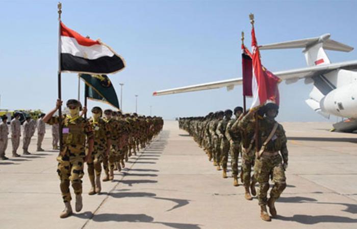 اختتام فعاليات التدريب المصري الإماراتي المشترك «زايد 3»