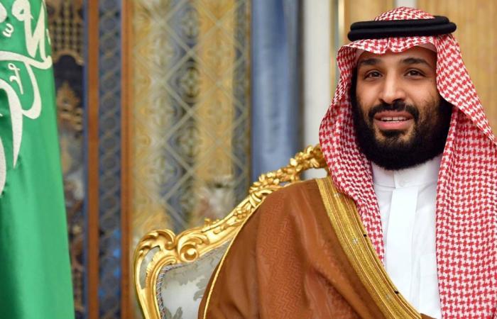 الأمير محمد بن سلمان يقيم مأدبة لولي العهد الكويتي في قصر اليمامة