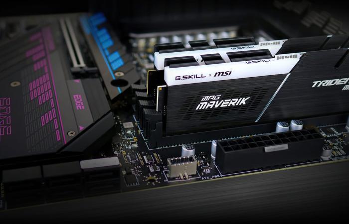 Computex21 : شركة G.SKILL تعلن عن مجموعة ذواكر Trident Z Maverik DDR4