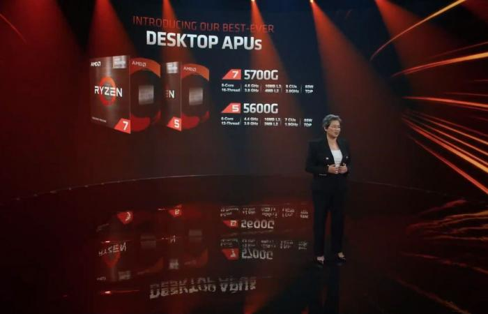 Computex21: بعض معالجات AMD APU Ryzen 5000G اصبحت متاحة للشراء!