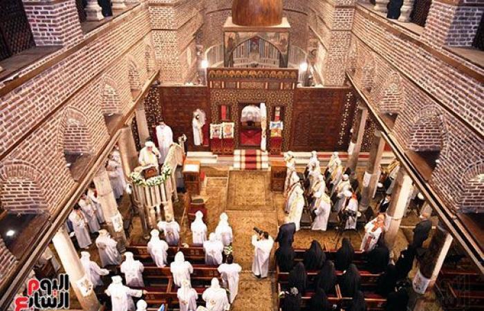 الكنيسة الأرثوذكسية تطلق النسخة الإنجليزية من موقعها الإلكترونى.. صور
