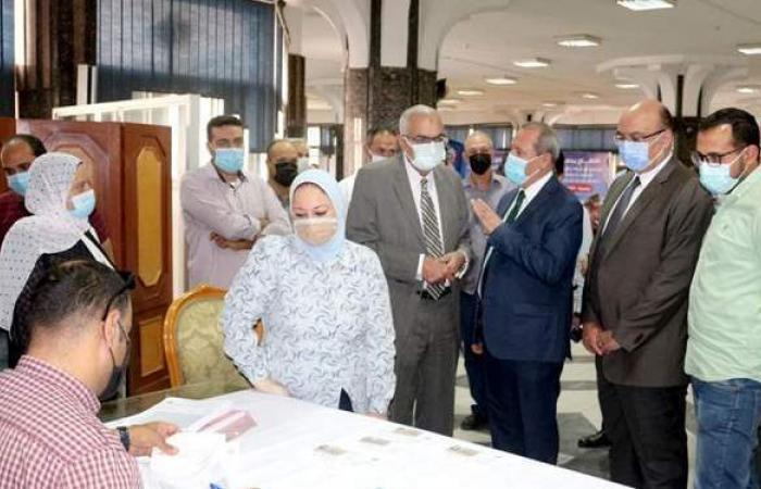 تخصيص مقر لتطعيم أعضاء هيئة التدريس بجامعة المنصورة