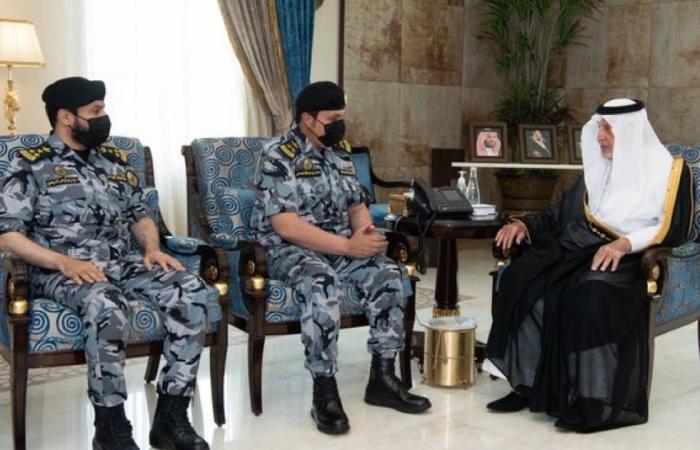 أمير مكة يستقبل قائد القوات الخاصة لأمن الحج والعمرة