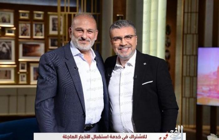 """السبت.. جمال سليمان ضيف عمرو الليثي ببرنامج """"واحد من الناس"""""""