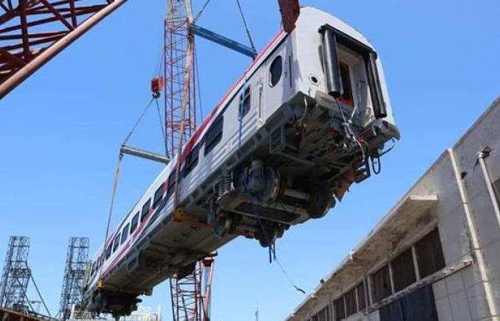 السفارة الروسية بالقاهرة: مصر استقبلت 381 عربة سكة حديد جديدة