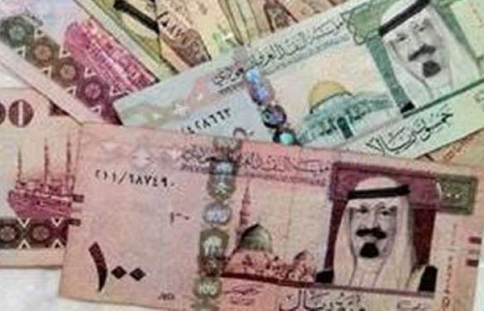 سعر الريـال السعودي أمام الجنيه المصري اليوم الجمعة 11 / 6 / 2021