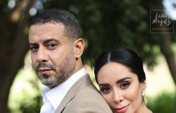 الصور الأولى لتحضيرات حفل زفاف محمد فراج وبسنت شوقى