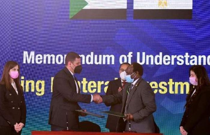 مذكرة تفاهم لتعزيز العلاقات الاستثمارية بين مصر والسودان